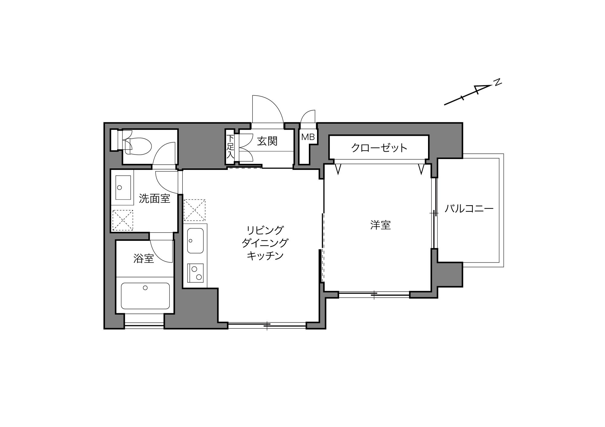 御茶ノ水駅 / 1LDK / 35.85㎡